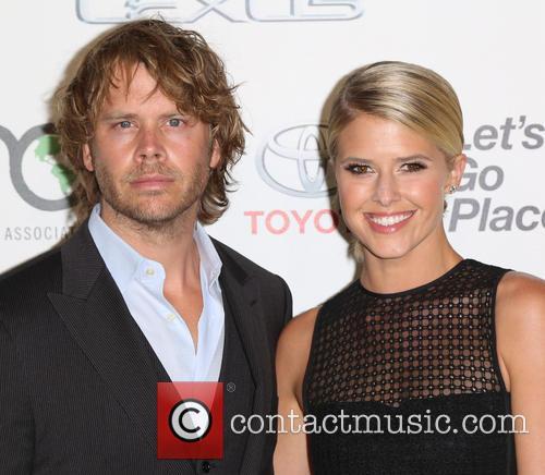 Eric Christian Olsen and Sarah Wright Olsen 1