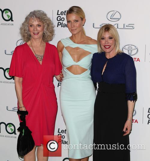 Blythe Danner, Gwyneth Paltrow and Debbie Levin 2
