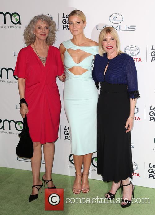 Blythe Danner, Gwyneth Paltrow and Debbie Levin 3