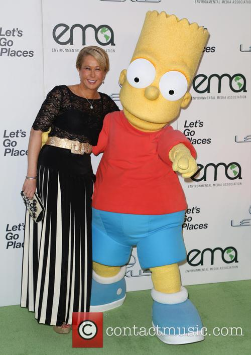 Yeardley Smith and Bart Simpson 3