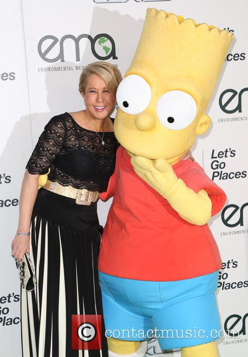 Yeardley Smith and Bart Simpson 1