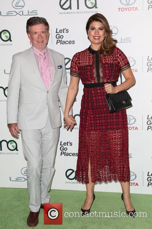 Alan Thicke and Tanya Callau 2