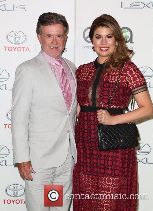 Alan Thicke and Tanya Callau 1