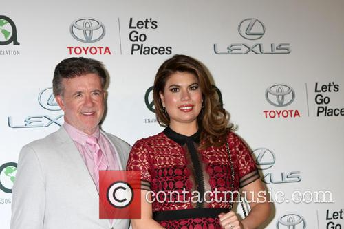 Alan Thicke and Tanya Callau 3