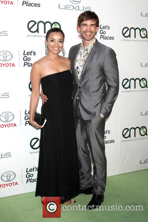 Anel Lopez and Christopher Gorham 1