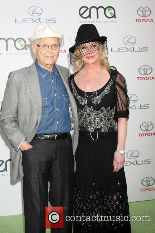 Norman Lear and Wife 1