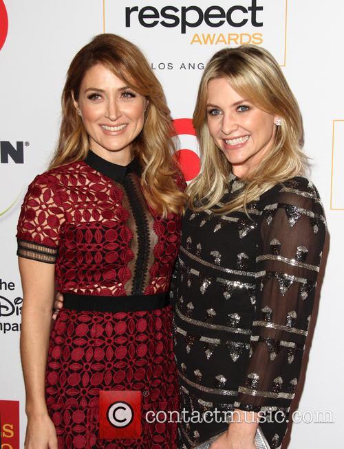 Sasha Alexander and Jessica Capshaw 1