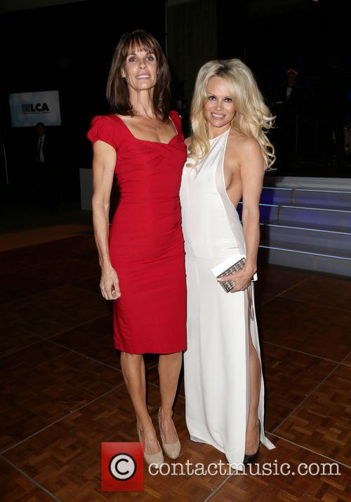 Alexandra Paul and Pamela Anderson 2