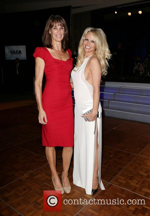Alexandra Paul and Pamela Anderson 1