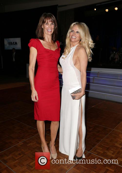 Alexandra Paul and Pamela Anderson 7