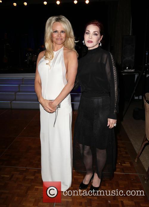 Pamela Anderson and Priscilla Presley 2