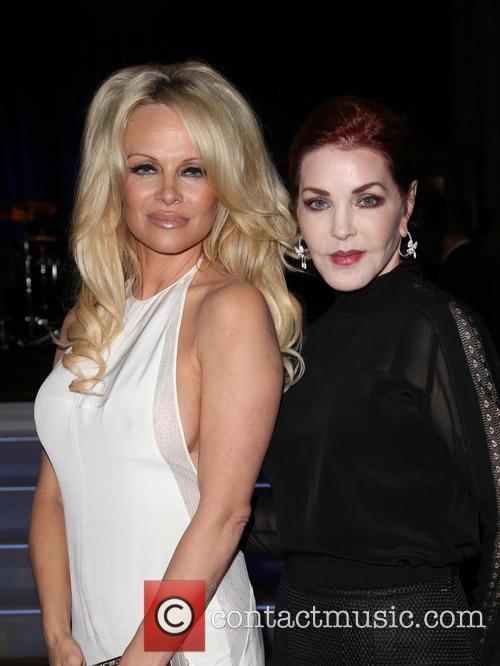 Pamela Anderson and Priscilla Presley 5