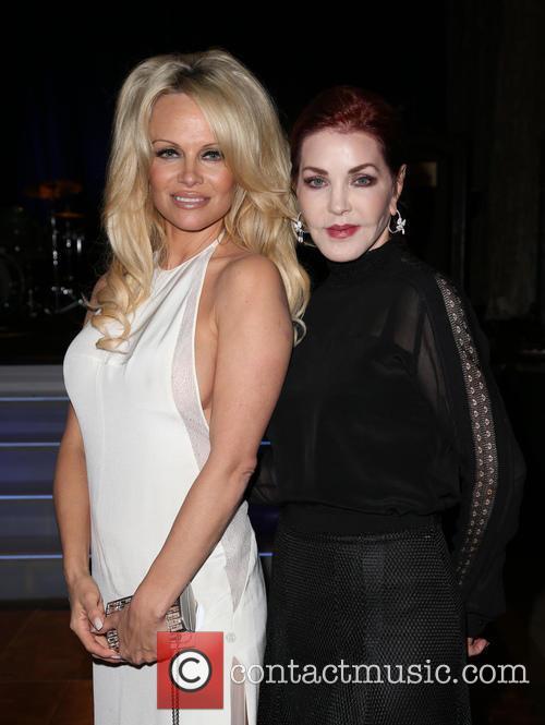Pamela Anderson and Priscilla Presley 6