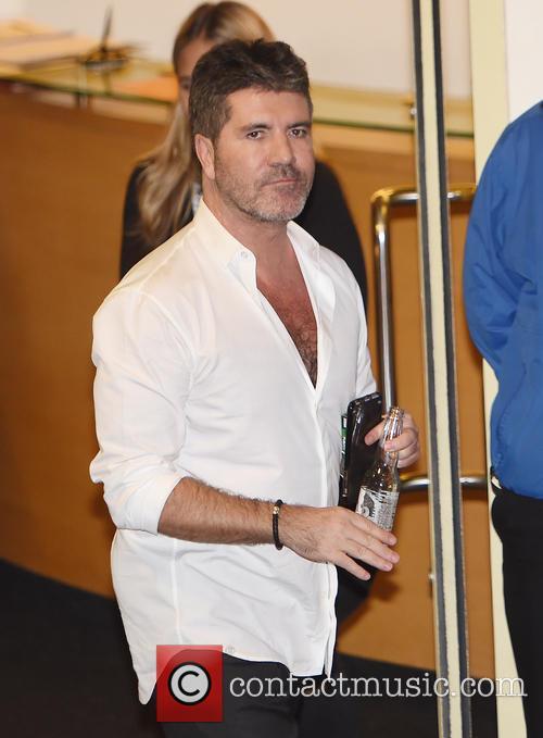 Simon Cowell leaving Fountain studios