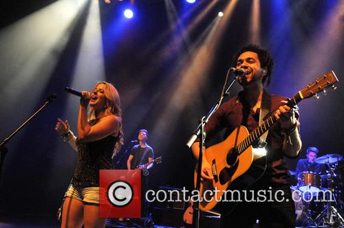 The Shires, Crissie Rhodes and Ben Earle 1