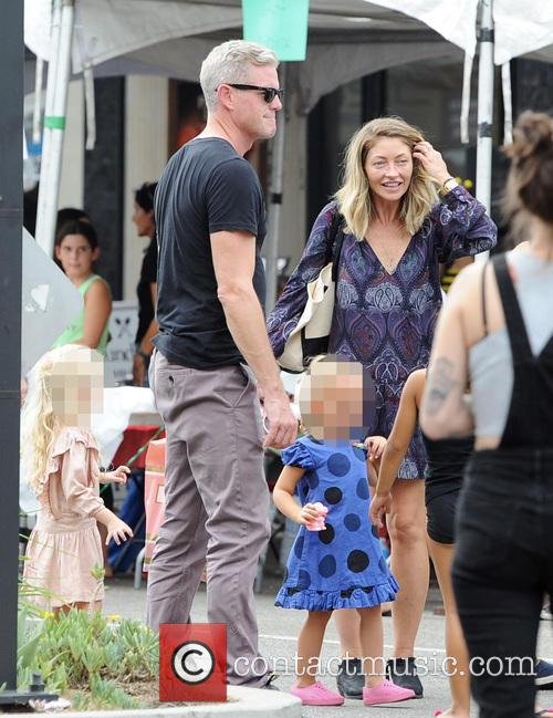Rebecca Gayheart, Eric Dane and Georgia 3