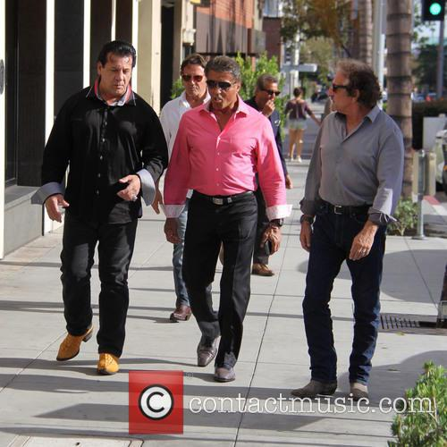 Sylvester Stallone, Chuck Zito and Frank Stallone 2