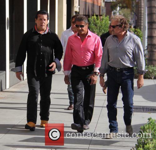 Sylvester Stallone and Chuck Zito 2
