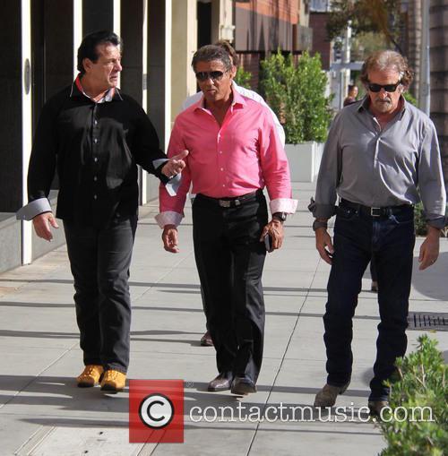 Sylvester Stallone and Chuck Zito 3