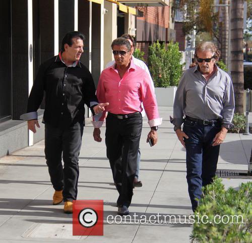 Sylvester Stallone and Chuck Zito 4