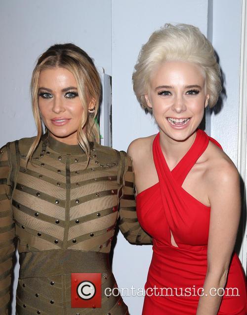 Carmen Electra and Alessandra Torresani 1