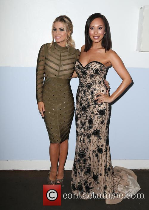 Carmen Electra and Cheryl Burke 4