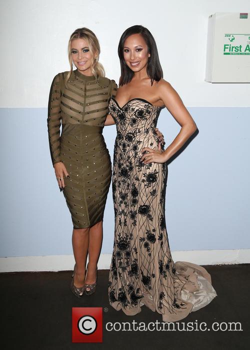 Carmen Electra and Cheryl Burke 8