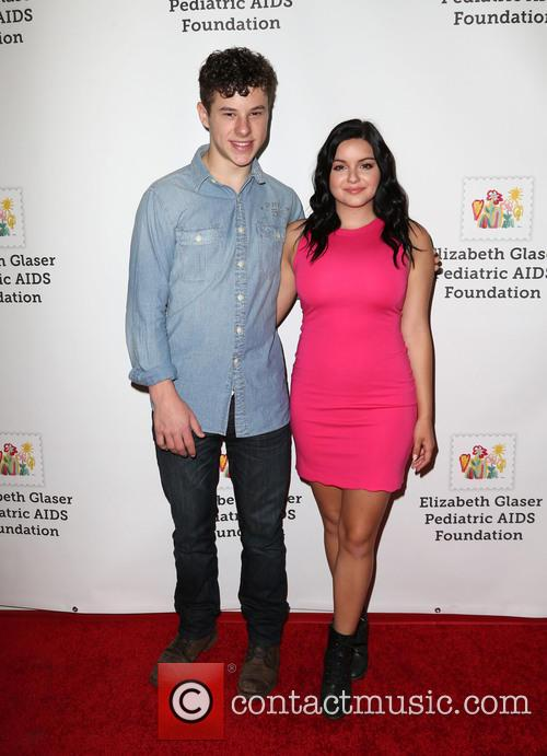 Nolan Gould and Ariel Winter 1