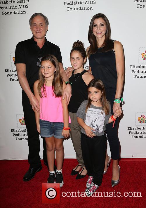 Terry Dubrow, Heather Dubrow, Collette Dubrow, Maximillia Dubrow and Katarina Dubrow 2