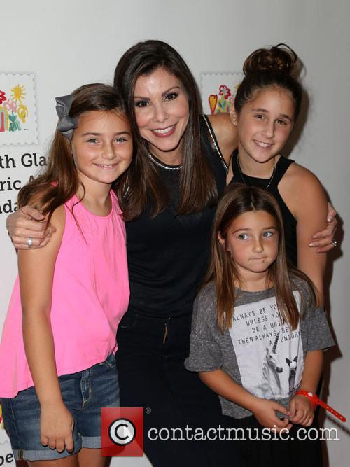 Heather Dubrow, Collette Dubrow, Maximillia Dubrow and Katarina Dubrow 1