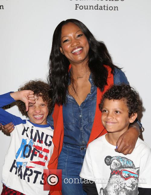 Garcelle Beauvais, Jaid Thomas Nilon and Jax Joseph Nilon 4