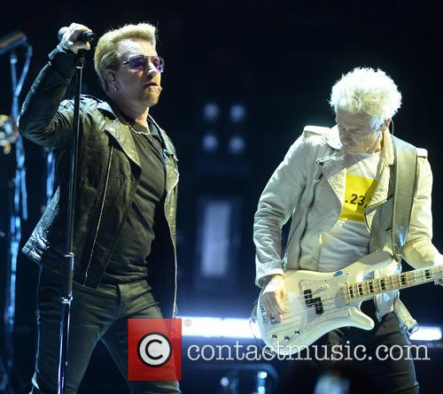 U2, Bono and Adam Clayton 1