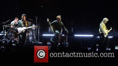 U2, Bono, Adam Clayton, The Edge, Larry Mullen and Jr 2