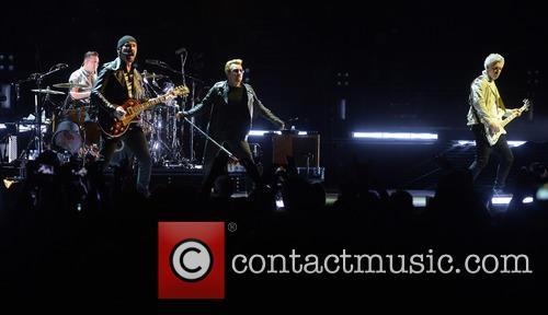 U2, Bono, Adam Clayton, The Edge, Larry Mullen and Jr 4