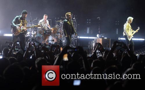 U2, Bono, Adam Clayton, The Edge, Larry Mullen and Jr 5