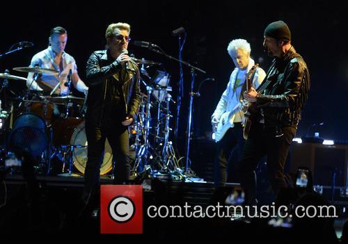 U2, Bono, Adam Clayton, The Edge, Larry Mullen and Jr 6