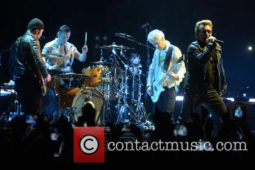 U2, Bono, Adam Clayton, The Edge, Larry Mullen and Jr 1