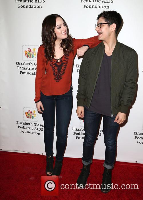 Elizabeth Gillies and Matt Bennett 2