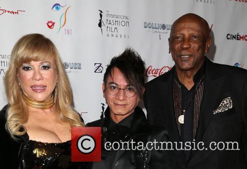 Daphna Ziman, Louis Gossett Jr. and Guest 3