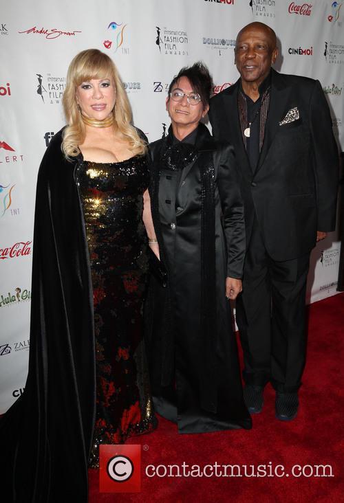 Daphna Ziman, Louis Gossett Jr. and Guest 1