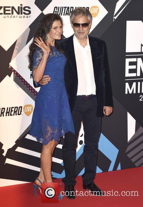 Andrea Bocelli and Veronica Berti 2
