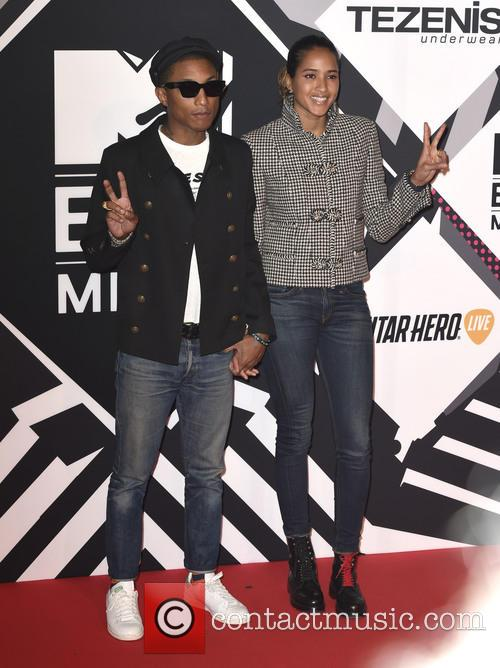 Pharrell Williams and Helen Lasichanh 3