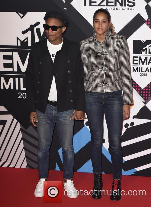 Pharrell Williams and Helen Lasichanh 5
