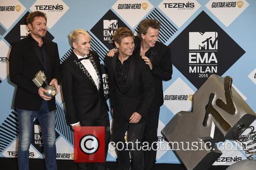 Duran Duran, Simon Le Bon, John Taylor, Nick Rhodes and Roger Taylor 2