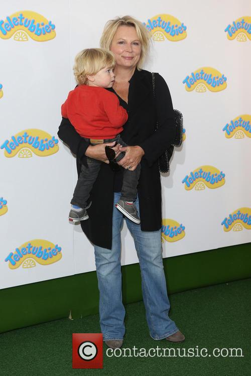 Jennifer Saunders and Grandson 2