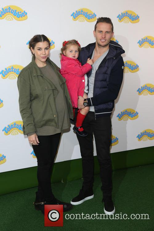 Imogen Thomas, Adam Horsley and Daughter Ariana 2