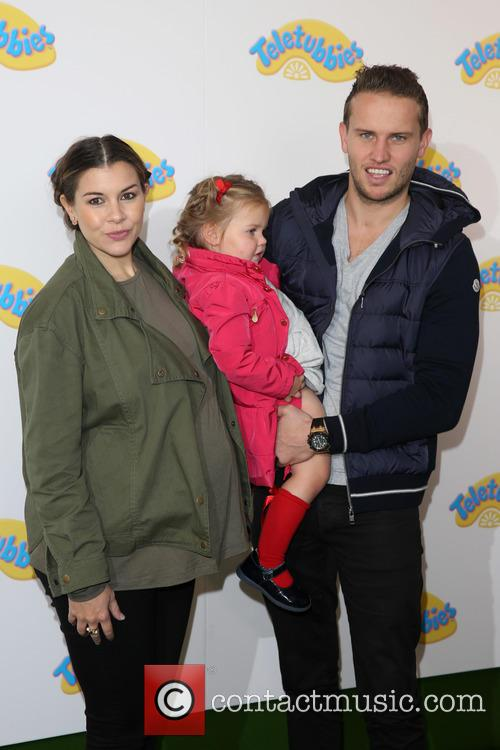 Imogen Thomas, Adam Horsley and Daughter Ariana 1