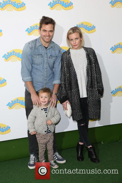 Lauren Crace, Son Jack and Michael Stevenson