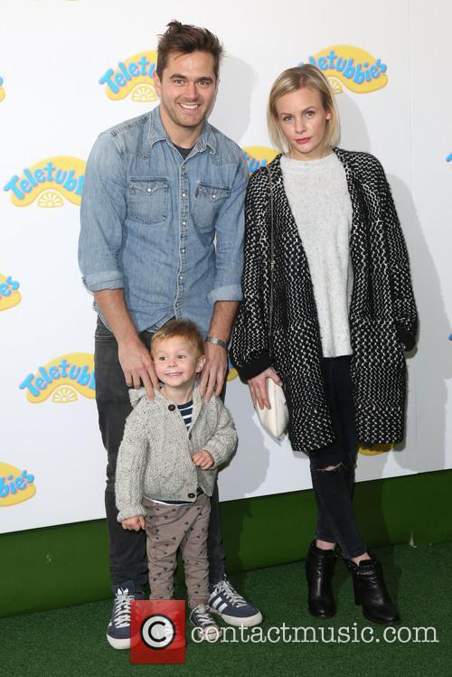 Lauren Crace, Son Jack and Michael Stevenson 1