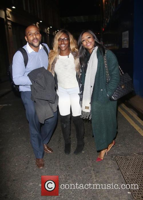 David Burke, Alexandra Burke and Sheneice Burke 2